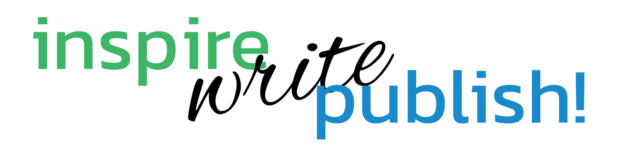 Inspire. Write. Publish! Logo